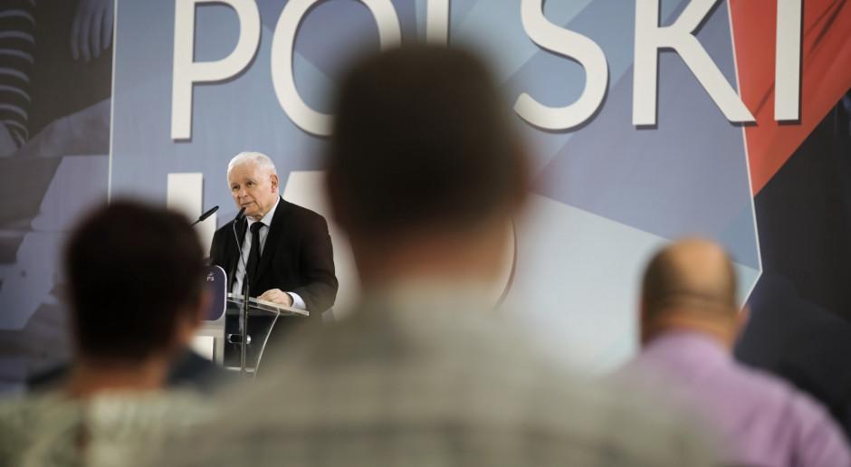 Kaczyński: Ataki na Polski Ład z wewnątrz naszego obozu to jest oszustwo
