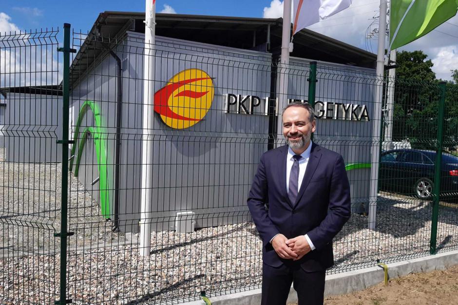 Leszek Hołda, członek zarządu PKP Energetyka. Fot. PTWP (AO)