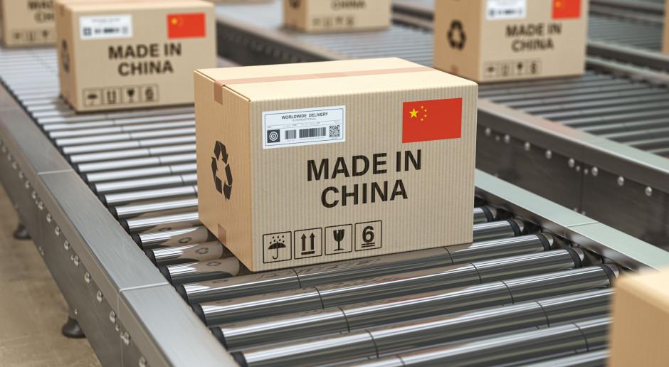 Rośnie wartość importu z Chin
