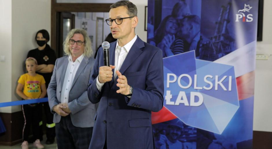 Premier Morawiecki: Polski Ład doprowadzi do przełomu w małych miejscowościach
