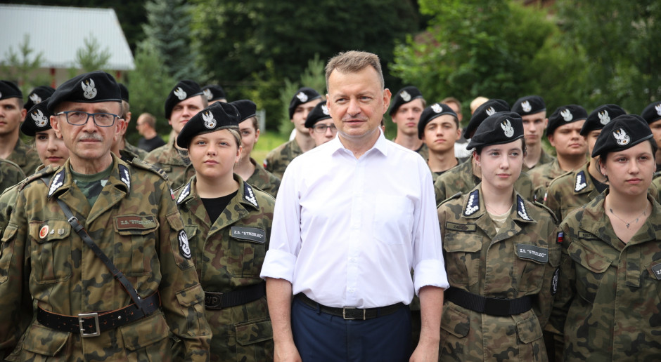 Błaszczak: Wojsko Polskie będzie miało swoje koszary w Limanowej