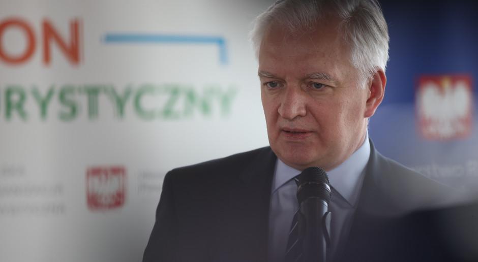 Gowin omówił działania pomocowe z władzami miasta Koniecpol, którą dotknęła ciężka nawałnica