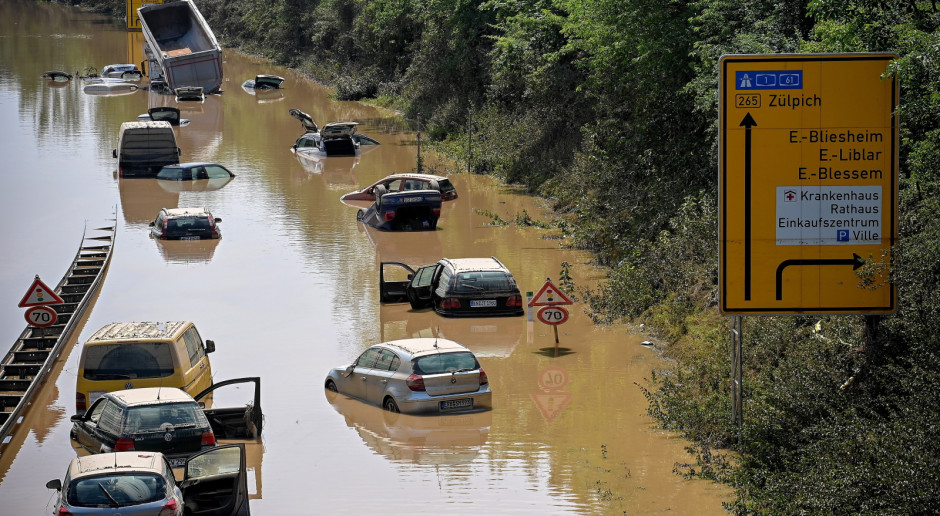 Niemcy: Rośnie bilans ofiar powodzi, zginęło łącznie 156 osób