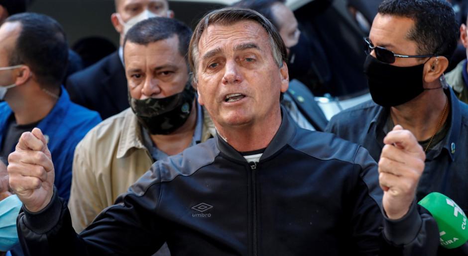 Brazylia: Prezydent Jair Bolsonaro po czterech dniach opuścił szpital