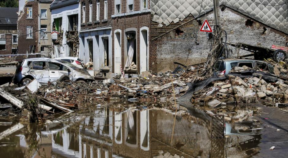 Belgia: Bilans ofiar powodzi wzrósł do 31, ponad 160 osób jest poszukiwanych