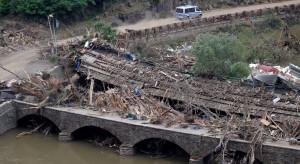 Niemcy po burzach i powodzi - widmo katastrofy gospodarczej
