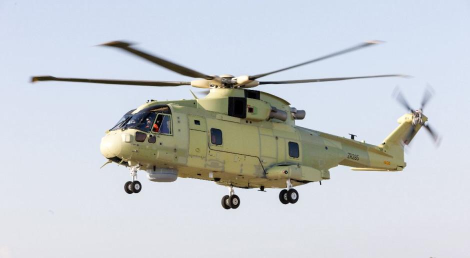 Pierwszy lot AW101 dla polskiej Marynarki Wojennej