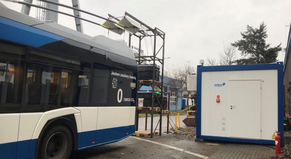Pojazdy elektryczne będą ładowane z sieci trakcyjnej trolejbusów