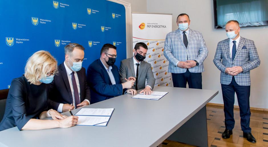 Pociągi na Śląsku zwiększa wykorzystanie energii odnawialnej