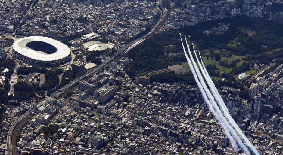 Olimpijska ewakuacja - Japończycy w gigantycznych korkach opuszczali Tokio