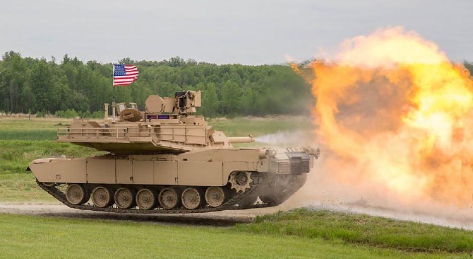 Czołgi Abrams będą bez osłony? Opóźnienia w realizacji programu Narew