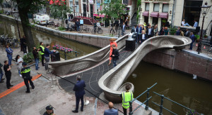 Druk 3D posłużył do budowy mostu w Amsterdamie