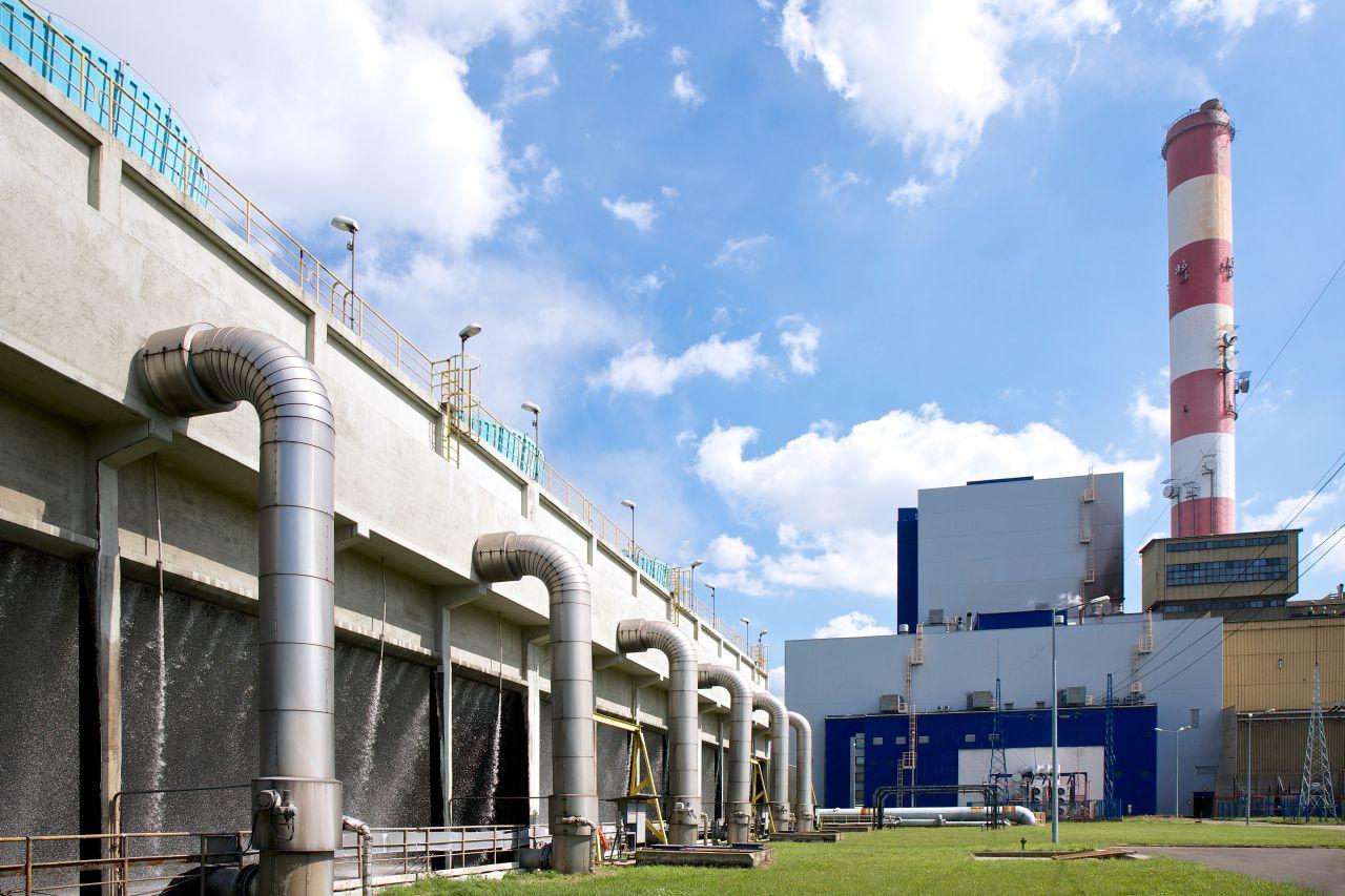 Elektrociepłownia w Katowicach ( Fot. Tauron Ciepło)