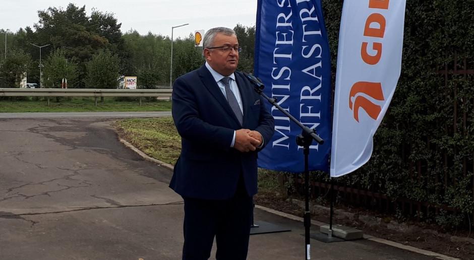 Małopolskie: Adamczyk: rozbudowa odcinka dk 94 – zgodnie z planem