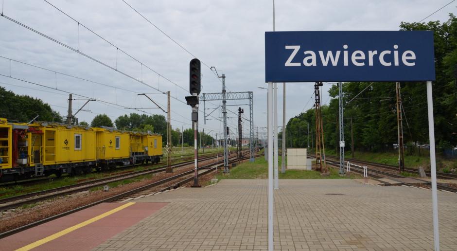 PLK zamawiają systemy sterowania i modernizację peronów w Zawierciu