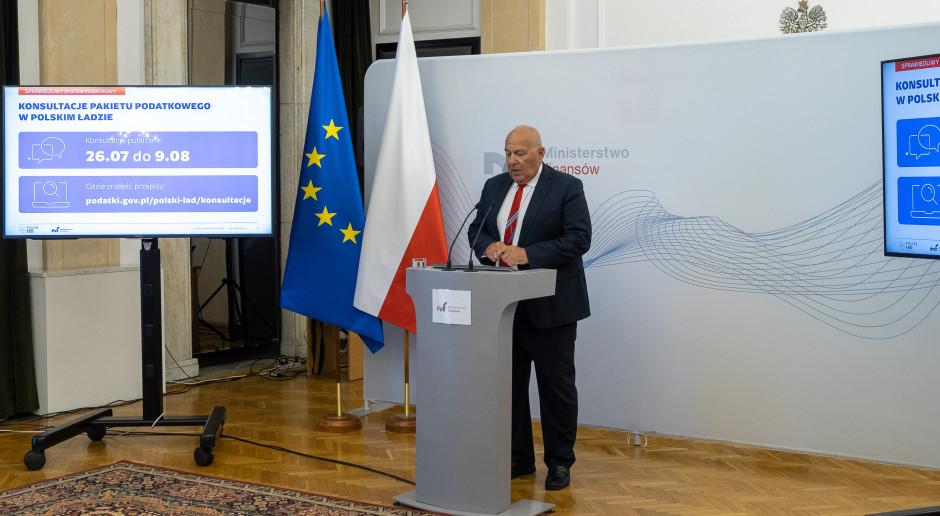 MF udostępniło projekt ustawy podatkowej będącej częścią Polskiego Ładu