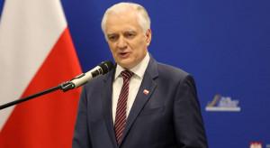 Jarosław Gowin poparł akcję, która ma powstrzymać nowy lockdown