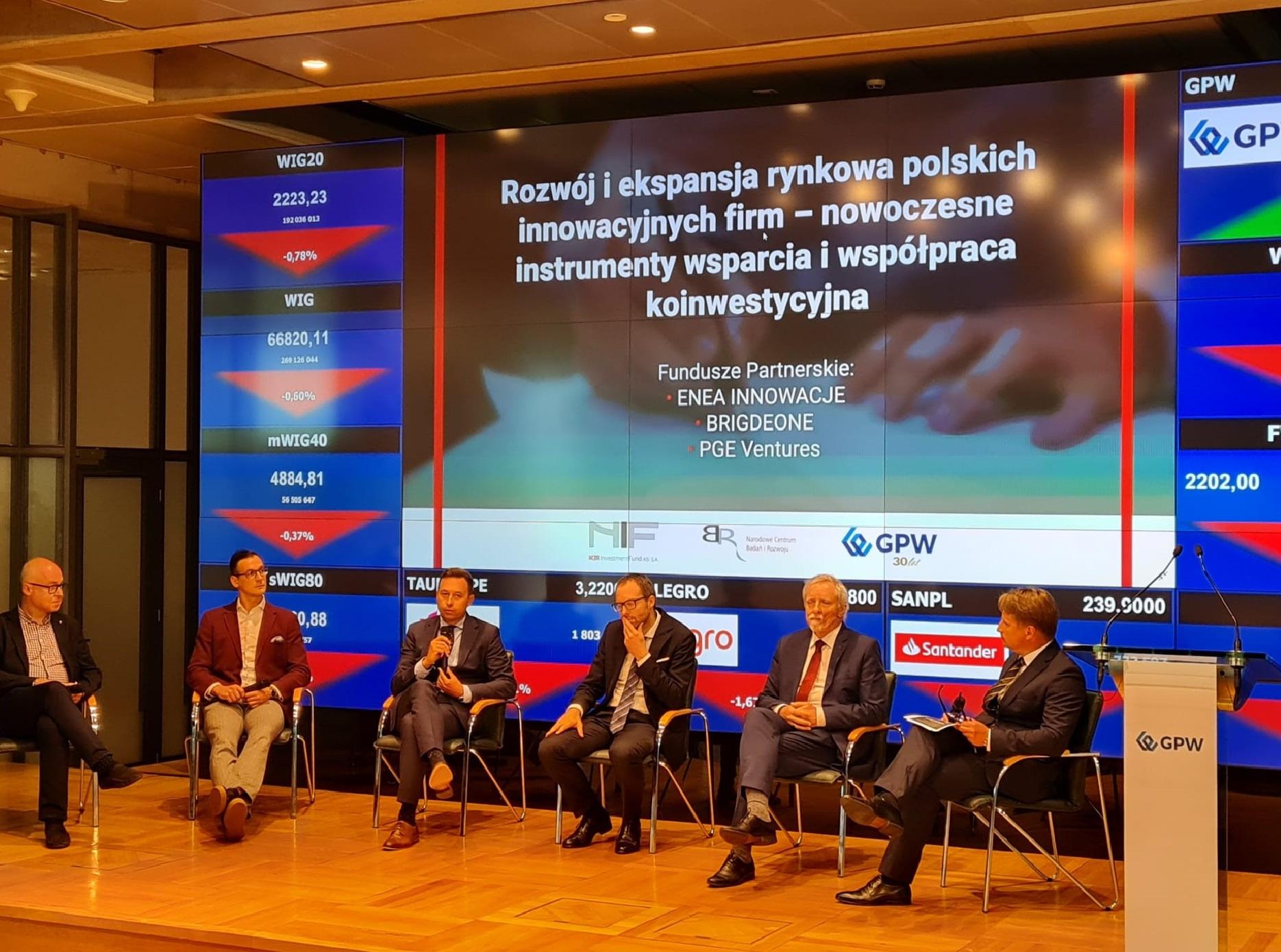 Enea Innowacje i NCBR Investment Fund ASI będą wspólnie inwestowały (fot. mat. pras. Enea)