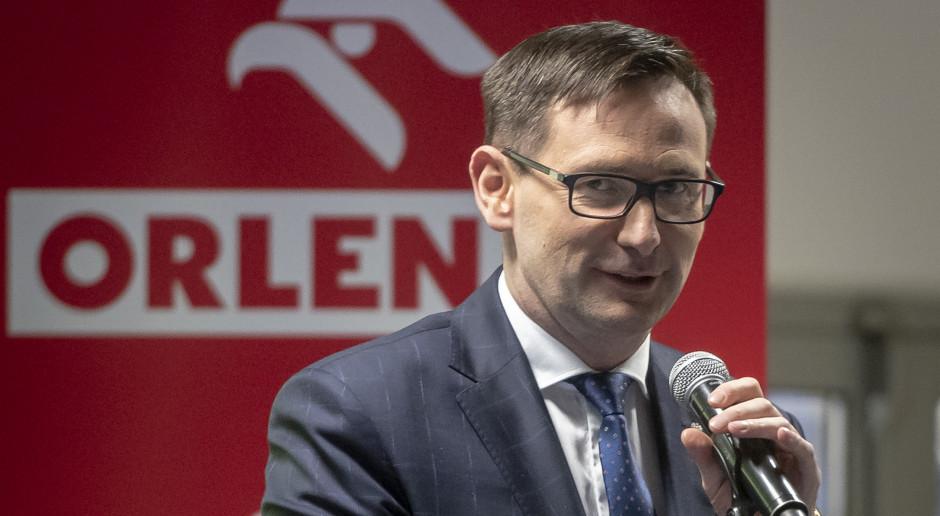 """Daniel Obajtek komentuje wyniki Orlenu. """"Przyszłością petrochemia i energetyka"""""""
