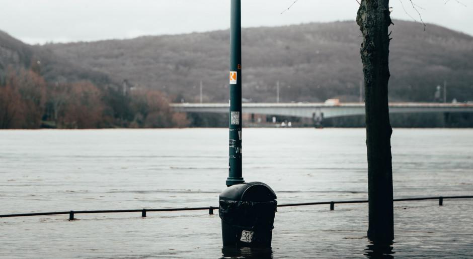 Holandia: Powodzie w wielu miejscach kraju po ulewach, ogłoszono alert powodziowy