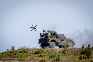 Celne strzelanie izraelskimi pociskami w Estonii