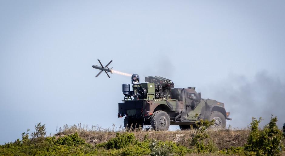 Pocisk Spike NLOS wystrzelone w Estonii