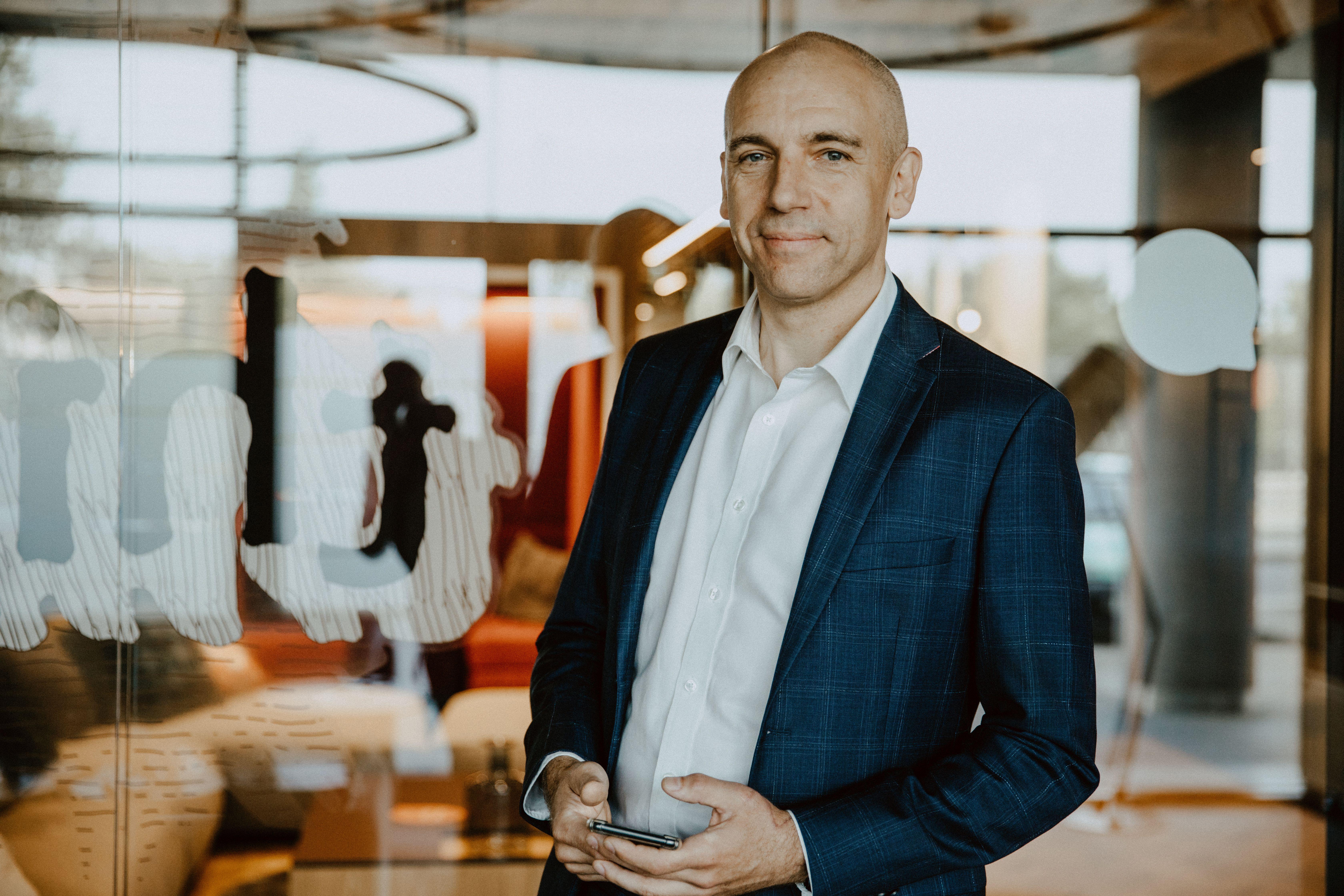 Przemysław Lewicki, Product Owner SAIO (fot. mat. pras.)