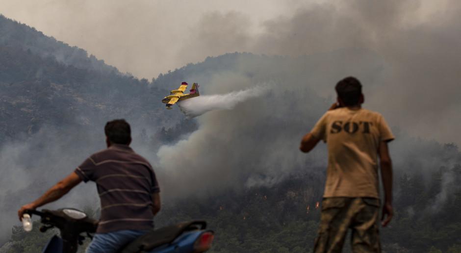Turcja: Pożar znów zagraża elektrowni na południowym zachodzie kraju