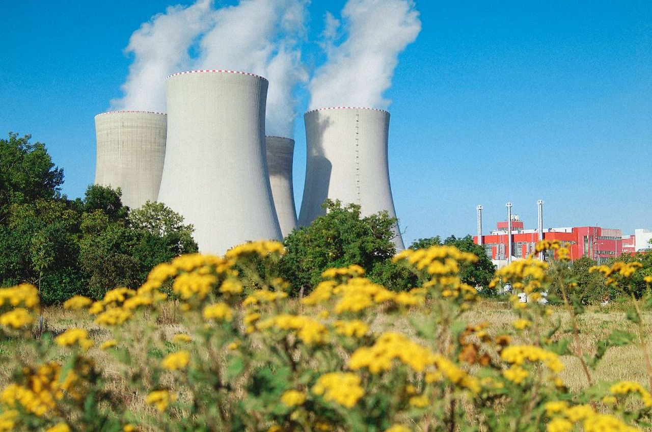 Elektrownia jądrowa Temelin ( Fot. mat. CEZ)