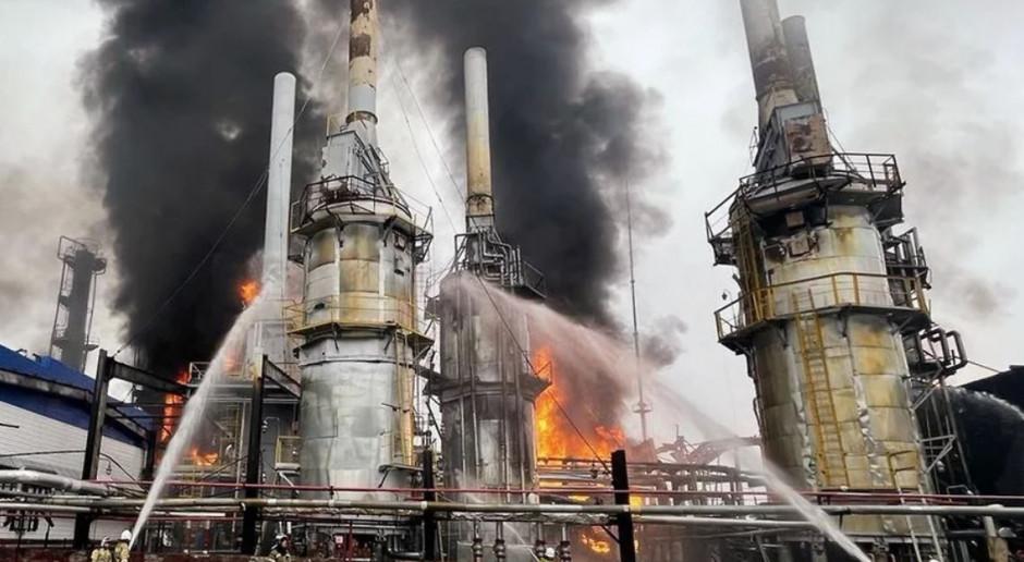 Gazprom liczy straty po pożarze instalacji gazowych