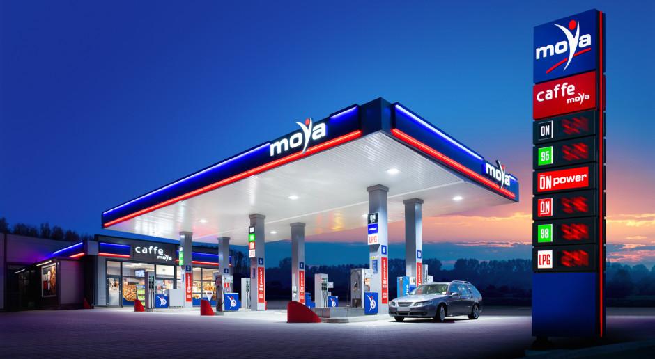Stacja benzynowa Moya z instalacją fotowoltaiczną
