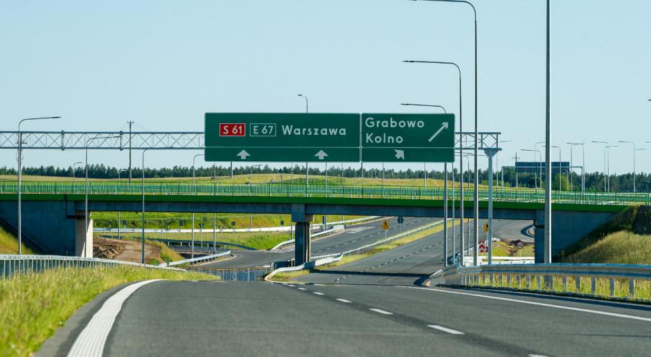 Ponad 16 km nowej drogi ekspresowej S61 dostępne dla kierowców