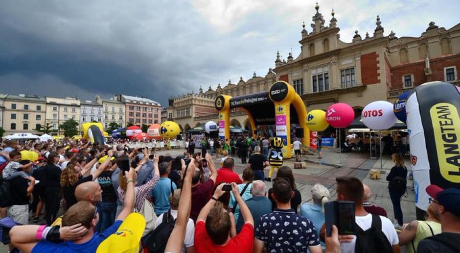 Wyścig kolarski Tour de Pologne ruszył ze wsparciem spółek Skarbu Państwa