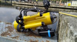 Robot skontroluje elektrownie wodne PGE