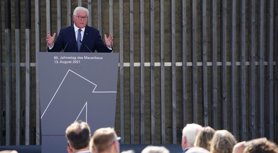 Prezydent RFN w 60 rocznicę budowy muru berlińskiego: To był fatalny dzień dla Niemiec i świata
