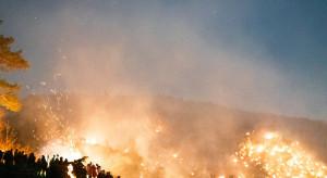 Hiszpania: 30 pożarów lasów, a winny jeden niedopałek?