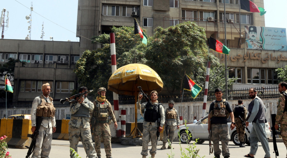 Afganistan: MSW: Talibowie zaczęli wkraczać do Kabulu z różnych kierunków
