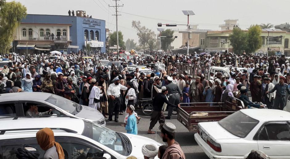 Ambasada Rosji w Afganistanie: Sytuacja w Kabulu napięta, ale nie ma walk