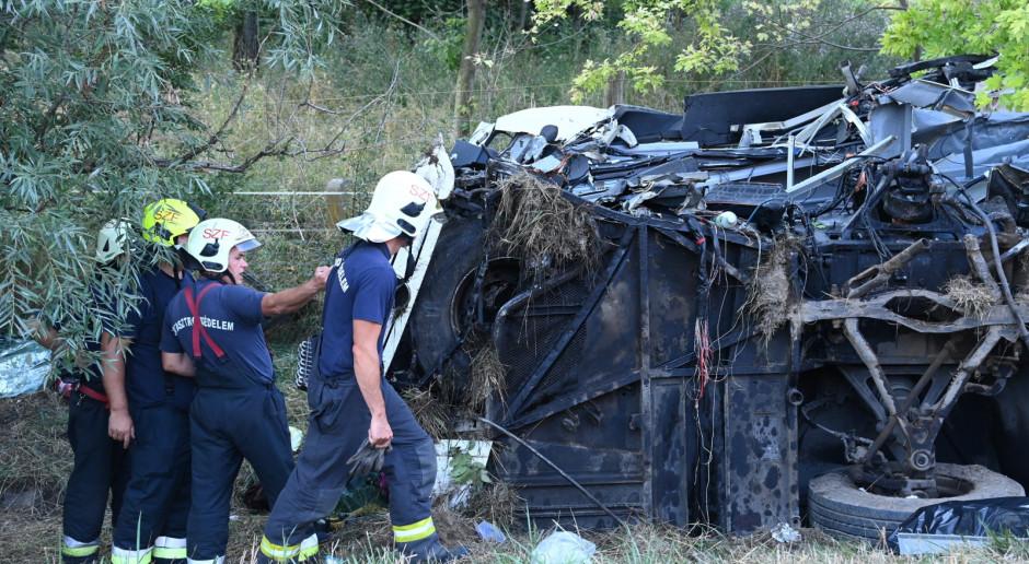 Węgry: 8 zabitych, 48 rannych w wypadku autokaru wiozącego węgierskich turystów