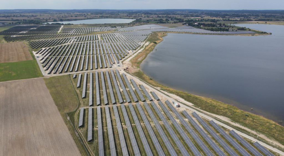 Ukończono budowę największej farmy fotowoltaicznej w Polsce