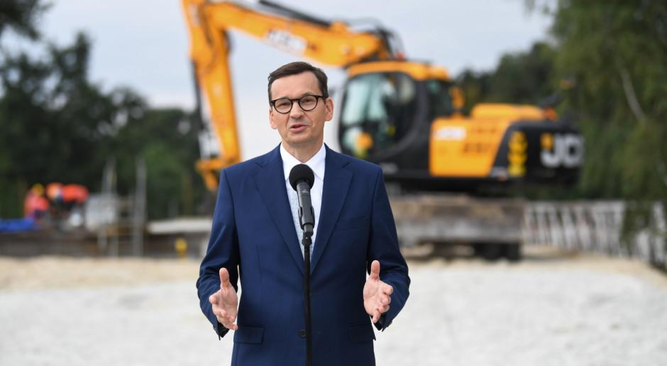 Premier zapowiedział, że budżet inwestycji drogowych w woj. kujawsko-pomorskim przekroczy 100 mln zł