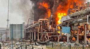 Straty Gazpromu po pożarze coraz większe. Koncern prosi o pomoc Novatek