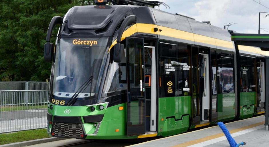 Poznań: Część trasy tramwajowej na Naramowice otwarta
