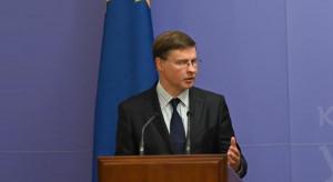 Dombrovskis: Nord Stream 2 nie jest projektem wspólnego europejskiego interesu