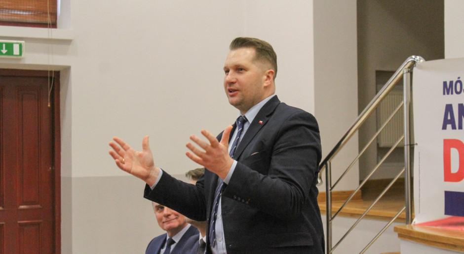 Przemysław Czarnek z nową funkcją. MEiN dorzuci się do rozwoju technologii reaktorów jądrowych