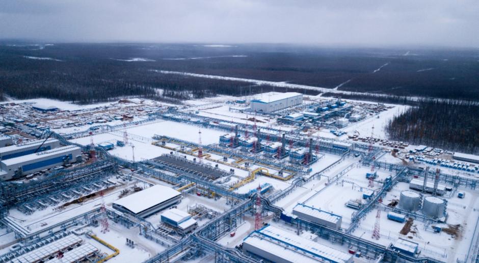 Gazprom podtrzymuje prognozy wydobycia, choć pożar instalacji budzi obawy
