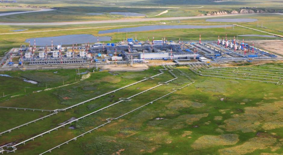 Gazprom niemal pobił rekord dostaw gazu do Europy