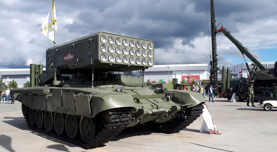Rosjanie opracowują autonomiczną, mobilną wyrzutnie pocisków termobarycznych