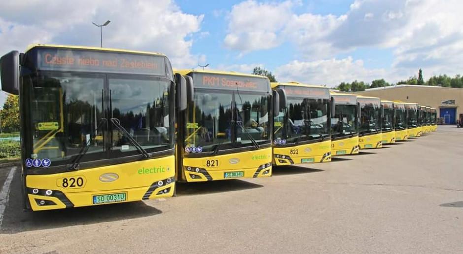 Sosnowiec kupił nowe autobusy elektryczne