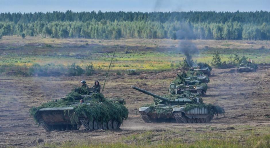 Armia Łukaszenki jedzie nad polską granicę. Czołgi, samoloty, śmigłowce